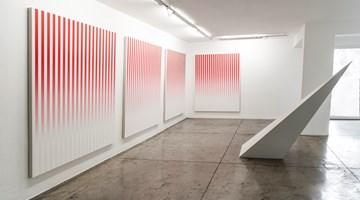 Contemporary art exhibition, Philippe Decrauzat, Circulation at Galeria Nara Roesler, São Paulo