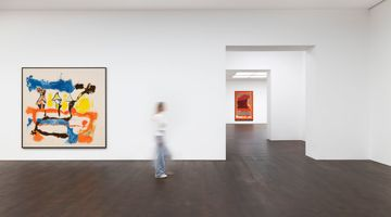 Contemporary art exhibition, Helen Frankenthaler, Imagining Landscapes: Paintings by Helen Frankenthaler, 1952–1976 at Gagosian, Grosvenor Hill, London, United Kingdom