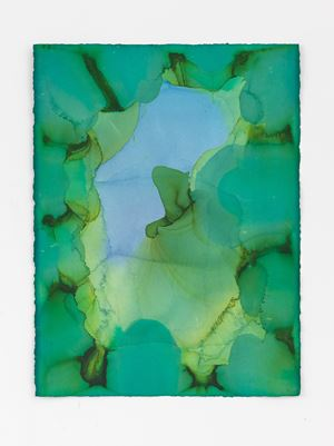 Untitled (Pale green) by Jason Martin contemporary artwork