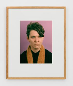Porträt (A. Pümpel) by Thomas Ruff contemporary artwork