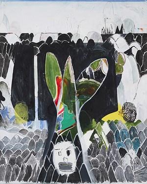 A seminal leaf by Hyunjin Bek contemporary artwork