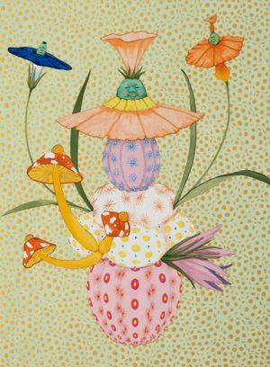 Origin of desire - small joys are a big joy - by Mari Ito contemporary artwork