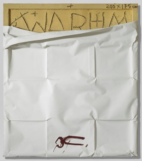 Warum by Antoni Tàpies contemporary artwork