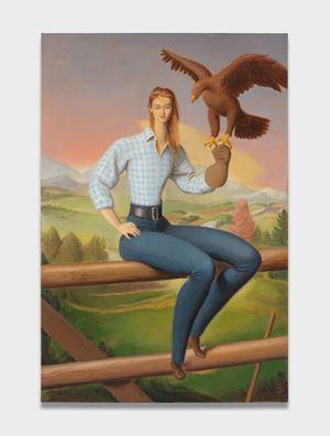 Eagle Hunter by Jansson Stegner contemporary artwork
