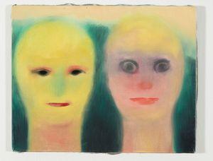 schauen by Miriam Cahn contemporary artwork painting
