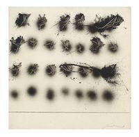 Alfabeto senza fine by Emilio Scanavino contemporary artwork painting, works on paper