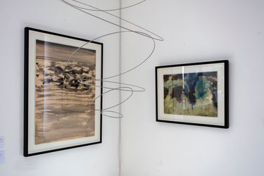 Exhibition view: T'ang Haywen and Hao Shiming, Two Ink Artist's from China,HdM Gallery, London (16 September–31 October 2021). Courtesy HdM Gallery.