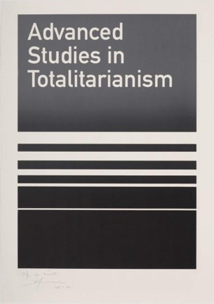 Advanced Studies in Totalitarianism by Heman Chong contemporary artwork