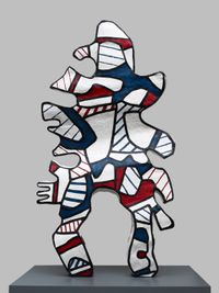 L'Incivil (after maquette dated 2 August-December 1973) by Jean Dubuffet contemporary artwork painting