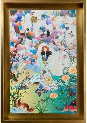 The Couch Unsent Piano Print by Tomokazu Matsuyama contemporary artwork