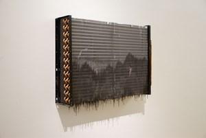 Dark Purple 深紫 by He An contemporary artwork