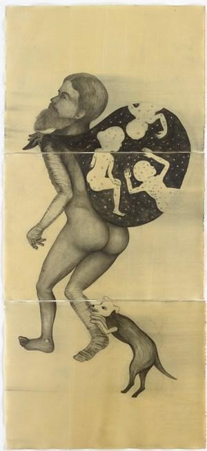El Portador de las Estrellas by Sandra Vásquez de la Horra contemporary artwork