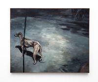 Naghond by Johann Louw contemporary artwork painting