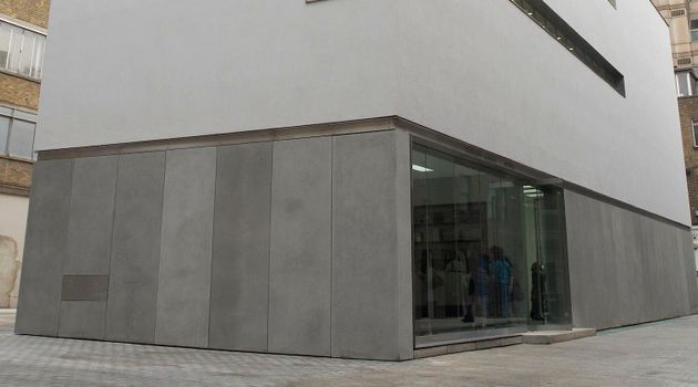 White Cube contemporary art gallery in Mason's Yard, London, United Kingdom