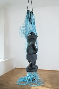 From Black to Blue by Susanne Thiemann contemporary artwork sculpture