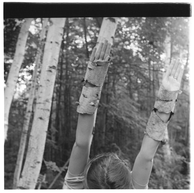 Untitled, MacDowell Colony, Peterborough, New Hampshire by Francesca Woodman contemporary artwork