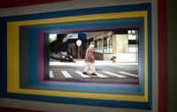 Work No. 2556 by Martin Creed contemporary artwork moving image