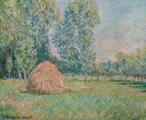 Meule de foin by Blanche Hoschede-Monet contemporary artwork