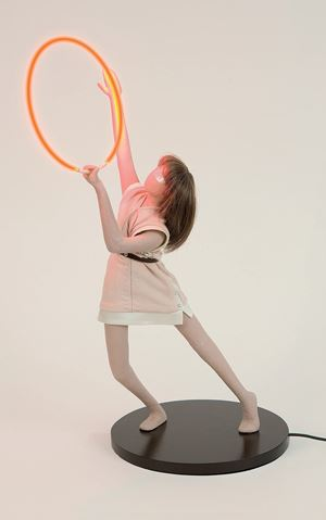 A Portable Apocalypse Ballet (Red Ring) 2008 (For Parkett 84) by Mai-Thu Perret contemporary artwork
