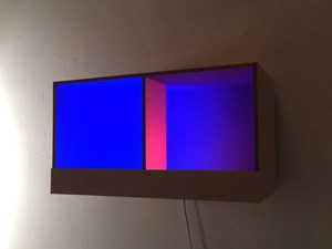 Blue Box by Adam Barker-Mill contemporary artwork