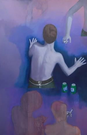 Lavender Ozone by Thomas Eggerer contemporary artwork