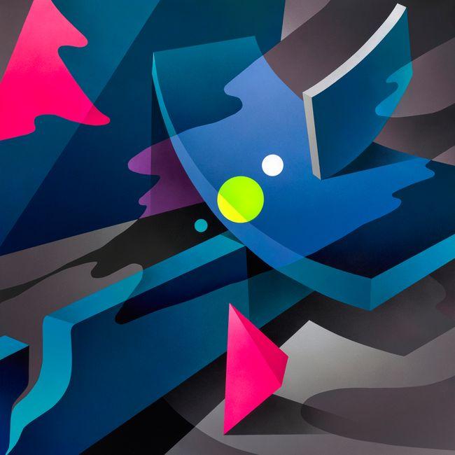 NIGHT LIGHT #3 by Mikael B contemporary artwork