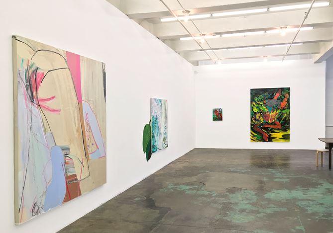 Exhibition view: Group Exhibition,Pleasure in Precariousness, Thomas Erben Gallery, New York (27 June–26 July 2019).Courtesy Thomas Erben Gallery.