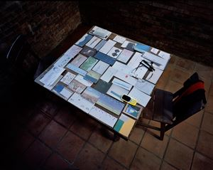 Dining Table No.2, YSC Shuinandong Residence by Yeh Wei-Li contemporary artwork