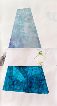 #3&4 of 17 Swimming Pools [pool dance] by ruby onyinyechi amanze contemporary artwork painting, works on paper, drawing