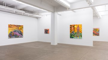 Contemporary art exhibition, Judith Linhares, Hearts on Fire at P·P·O·W Gallery, New York