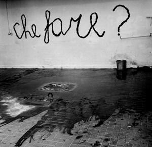 Che Fare? by Claudio Abate, Mario Merz contemporary artwork