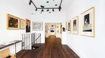 Contemporary art exhibition, Group Exhibition, Tales from the Colony Room at Dellasposa Gallery, London, United Kingdom