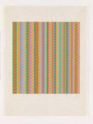 Untitled [towards Broken Gaze] by Bridget Riley contemporary artwork