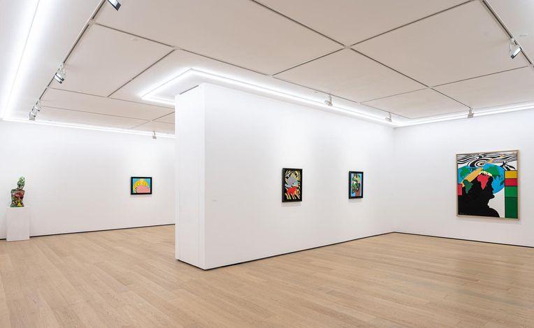 Exhibition view: Go Yayanagi, Earth. Family,Whitestone Gallery, Hong Kong (27 March–8 May 2021). Courtesy Whitestone Gallery.