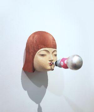 Word Going Out No.2 by Daisuke Teshima contemporary artwork