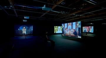 Contemporary art exhibition, Julian Rosefeldt, Manifesto at Hauser & Wirth, Los Angeles