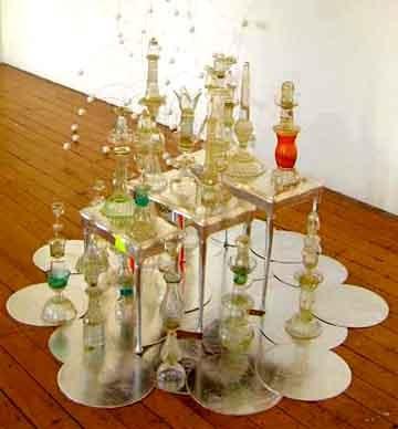 Stacks (glass) by Judy Darragh contemporary artwork