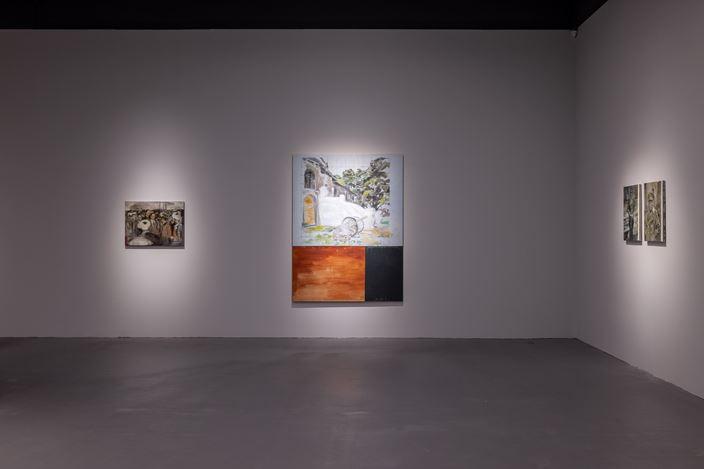 Exhibition view: Sawangwongse Yawnghwe,Burmese History X, TKG+, Taipei (26 September–21 November 2020). Courtesy TKG+.