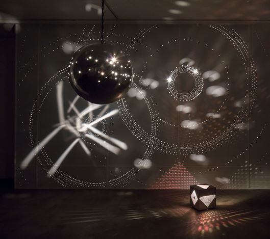 Exhibition view: Otto Piene, Light Ballet, Sprüth Magers, Berlin (April 29–June 17, 2017). Courtesy Sprüth Magers. Photo: Timo Ohler.