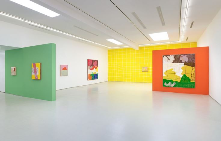 Exhibition view: Evan Nesbit, Open Objects, Roberts Projects, Los Angeles (7 July–15 August 2020). Courtesy Roberts Projects.