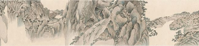 The Scroll of Chaya Mountain by Liang Shuo contemporary artwork
