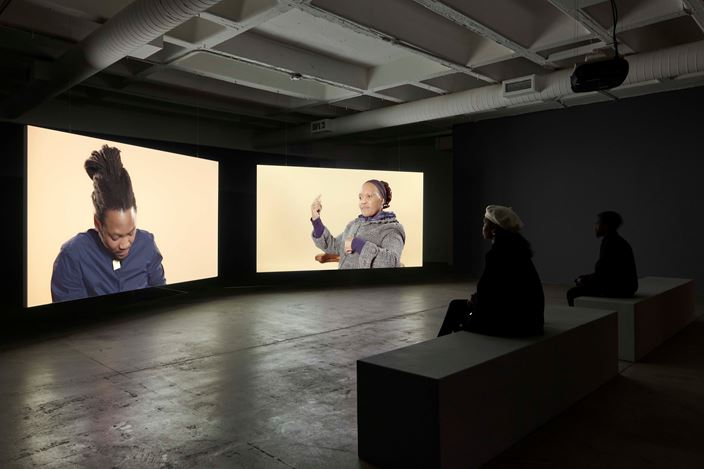 Exhibition view: Sue Williamson, That particular morning, Goodman Gallery, Johannesburg (25 July–31 August 2019). Courtesy Goodman Gallery.