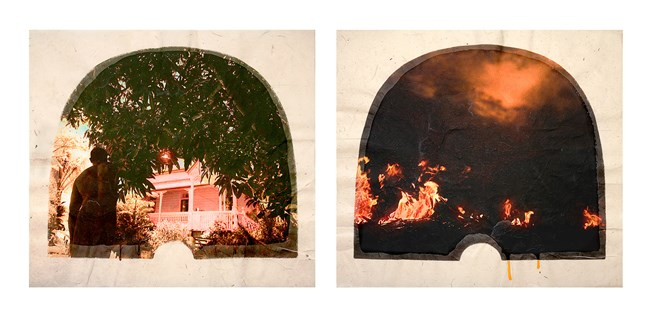 Plantation (Diptych No. 12) by Tracey Moffatt contemporary artwork