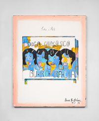 Burocracia by Anna Bella Geiger contemporary artwork painting