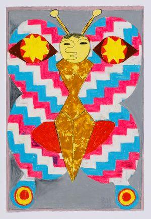Untitled (moth) #16 by Brendan Huntley contemporary artwork