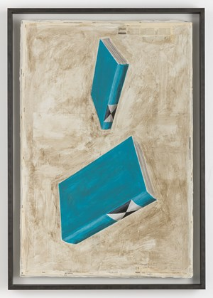 Falling Dictionaries by Mark Manders contemporary artwork