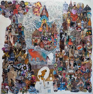 World Born  by Leang Seckon contemporary artwork