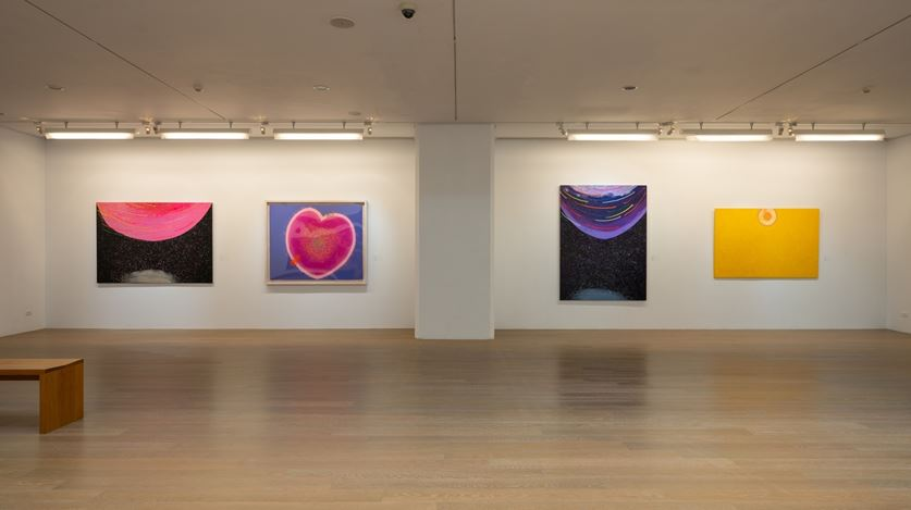 Exhibition view: Hsiao Chin, Harmony of the Grande Chi,Liang Gallery, Taipei (23 January–18 April 2021).Courtesy Liang Gallery.