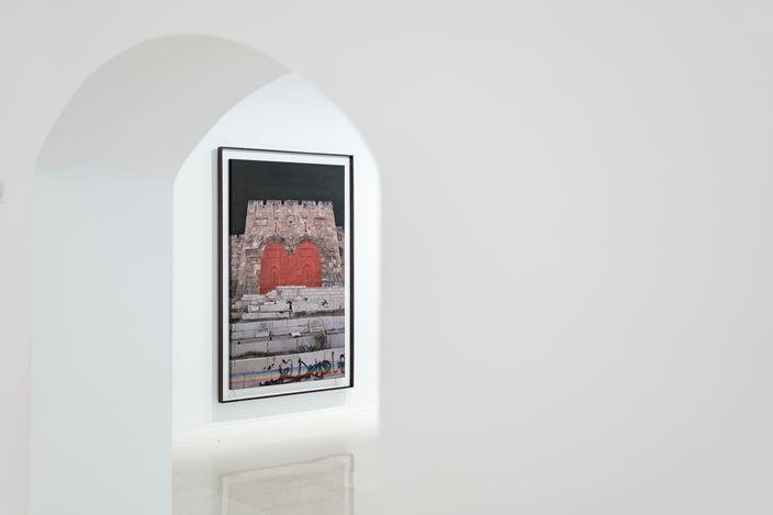 Exhibition view: Slater Bradley,The Gates of Many Colors,Galería Pelaires, Palma (20 March–10 September 2020). CourtesyGalería Pelaires. Photo:Grimalt de Blanch.