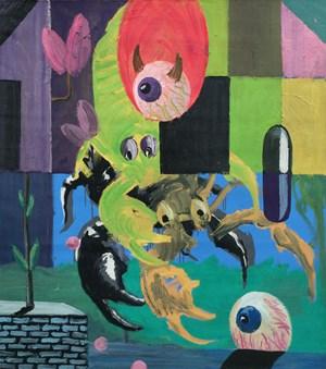 Scorpion wash by David Griggs contemporary artwork